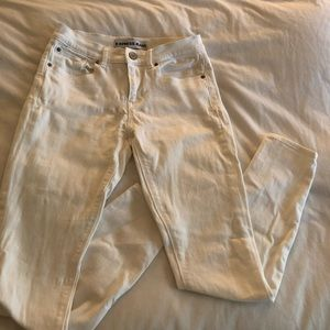 Express Jeans white